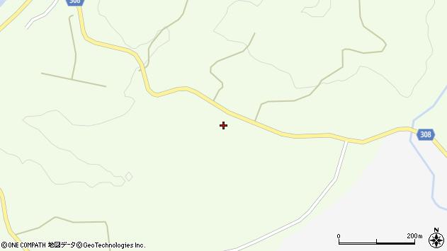山形県最上郡鮭川村曲川377周辺の地図