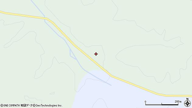 山形県最上郡鮭川村京塚3247周辺の地図