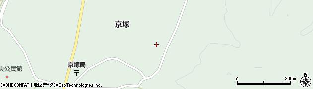 山形県最上郡鮭川村京塚1029周辺の地図