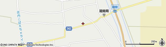 山形県東田川郡庄内町廻館館舎161周辺の地図