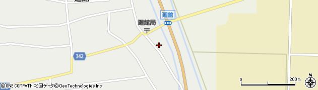 山形県東田川郡庄内町廻館館舎27周辺の地図