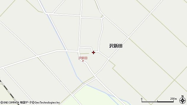 山形県東田川郡庄内町沢新田東中割15周辺の地図