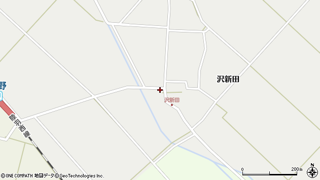 山形県東田川郡庄内町沢新田村表36周辺の地図