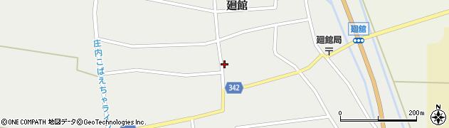 山形県東田川郡庄内町廻館館舎168周辺の地図