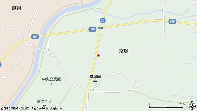 山形県最上郡鮭川村京塚1239周辺の地図