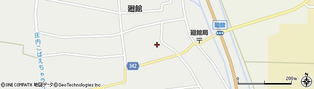 山形県東田川郡庄内町廻館館舎160周辺の地図