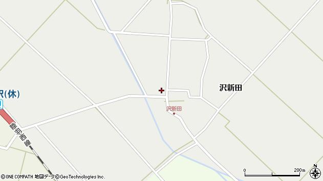 山形県東田川郡庄内町沢新田錆89周辺の地図