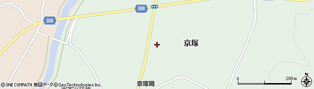 山形県最上郡鮭川村京塚1214周辺の地図