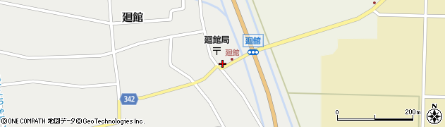 山形県東田川郡庄内町廻館館舎30周辺の地図