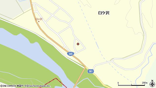 山形県酒田市臼ケ沢池田通15周辺の地図