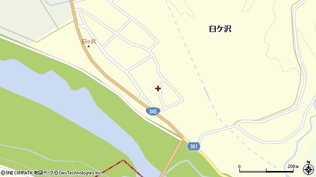 山形県酒田市臼ケ沢池田通23周辺の地図