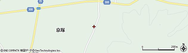 山形県最上郡鮭川村京塚4308周辺の地図
