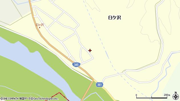 山形県酒田市臼ケ沢池田通12周辺の地図
