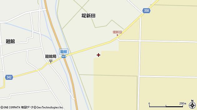 山形県東田川郡庄内町堤新田新地8周辺の地図