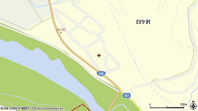 山形県酒田市臼ケ沢池田通35周辺の地図
