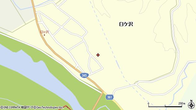 山形県酒田市臼ケ沢池田通13周辺の地図