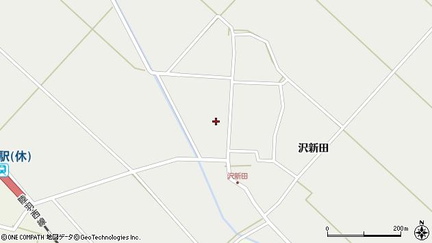 山形県東田川郡庄内町沢新田錆113周辺の地図