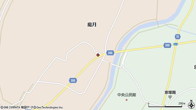 山形県最上郡鮭川村庭月759周辺の地図