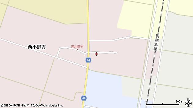 山形県東田川郡庄内町西小野方西農36周辺の地図