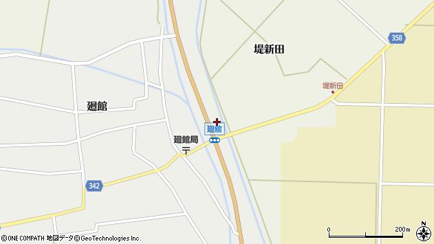 山形県東田川郡庄内町廻館盛利新田27周辺の地図