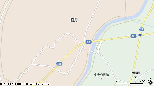 山形県最上郡鮭川村庭月683周辺の地図