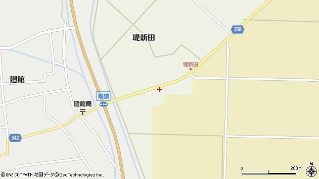 山形県東田川郡庄内町堤新田新地12周辺の地図