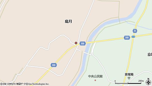 山形県最上郡鮭川村庭月760周辺の地図