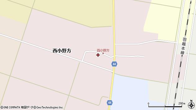 山形県東田川郡庄内町西小野方西農82周辺の地図