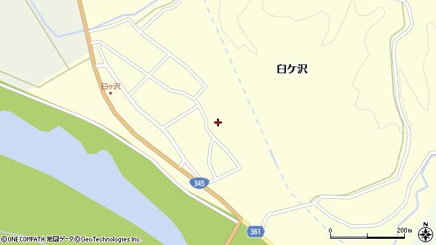 山形県酒田市臼ケ沢池田通44周辺の地図