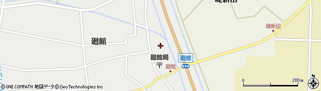 山形県東田川郡庄内町廻館盛利新田16周辺の地図