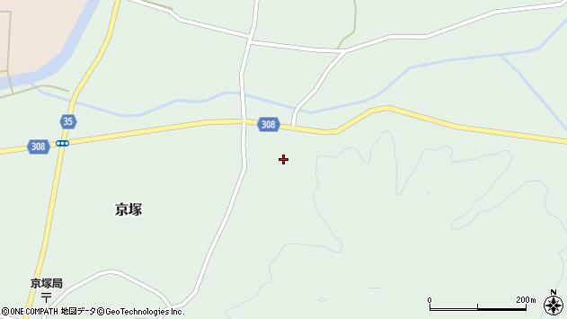 山形県最上郡鮭川村京塚3017周辺の地図