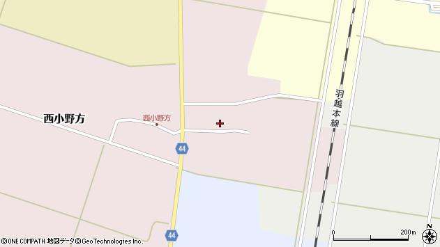 山形県東田川郡庄内町西小野方西農31周辺の地図