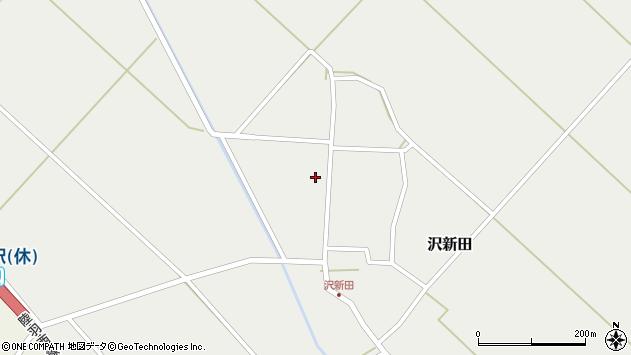 山形県東田川郡庄内町沢新田錆周辺の地図
