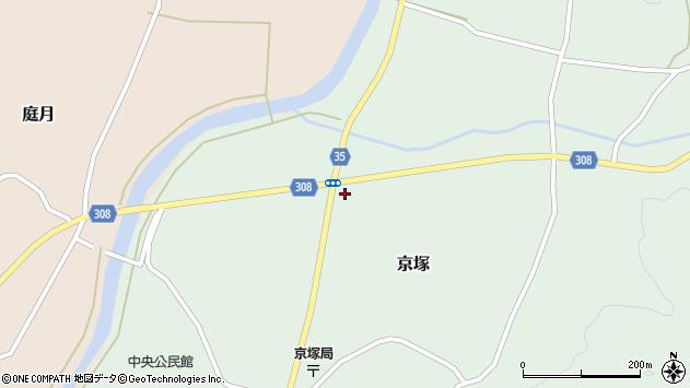 山形県最上郡鮭川村京塚1247周辺の地図