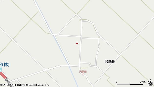 山形県東田川郡庄内町沢新田錆123周辺の地図
