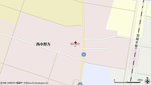 山形県東田川郡庄内町西小野方西農78周辺の地図