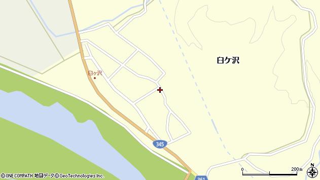 山形県酒田市臼ケ沢池田通30周辺の地図