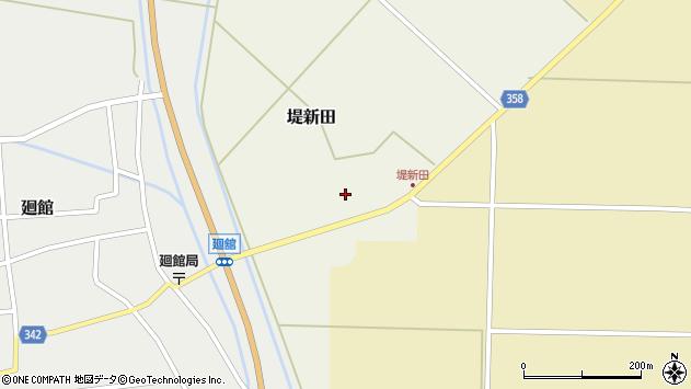 山形県東田川郡庄内町堤新田新地23周辺の地図