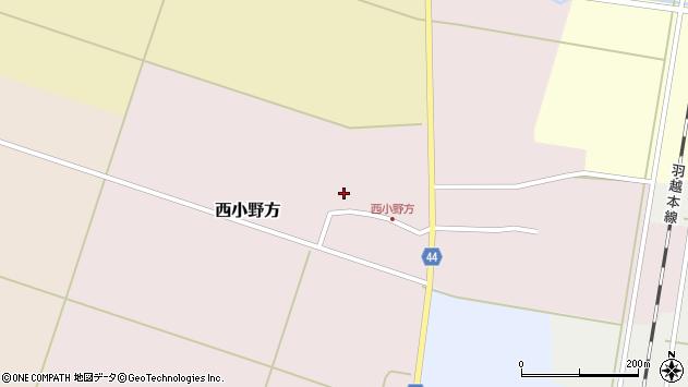 山形県東田川郡庄内町西小野方西農87周辺の地図