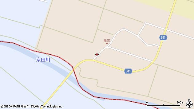 山形県東田川郡庄内町生三上川前9周辺の地図