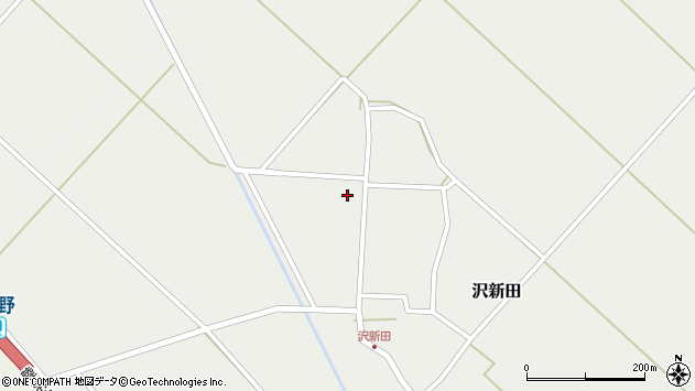 山形県東田川郡庄内町沢新田錆138周辺の地図