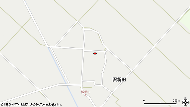 山形県東田川郡庄内町沢新田錆64周辺の地図