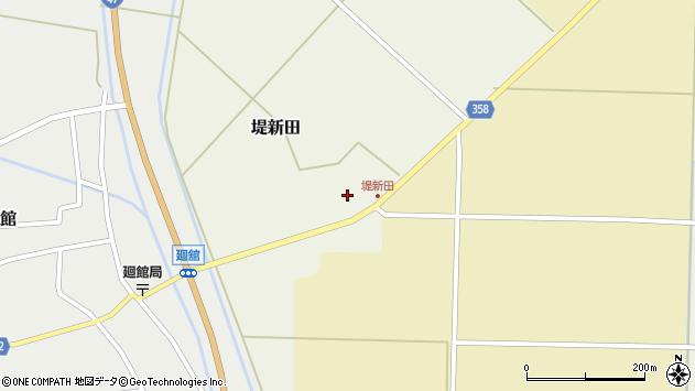 山形県東田川郡庄内町堤新田新地19周辺の地図