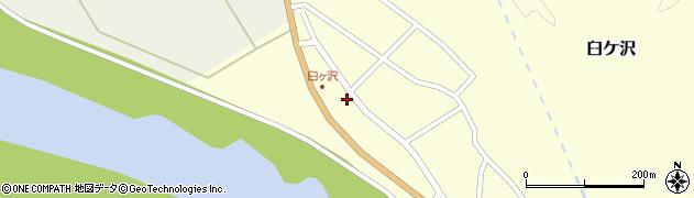 山形県酒田市臼ケ沢大割2周辺の地図