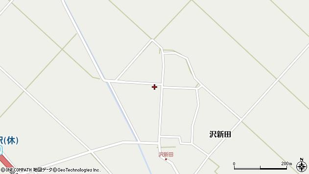 山形県東田川郡庄内町沢新田錆141周辺の地図