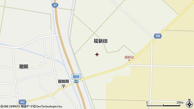 山形県東田川郡庄内町堤新田新地35周辺の地図