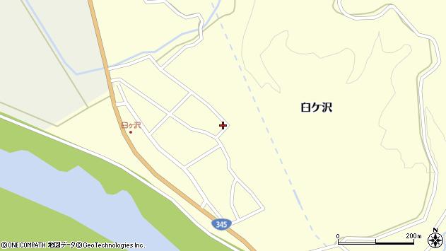 山形県酒田市臼ケ沢池田通112周辺の地図