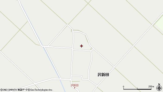 山形県東田川郡庄内町沢新田錆142周辺の地図