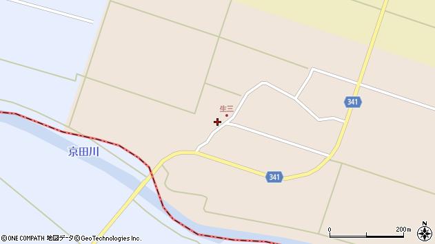 山形県東田川郡庄内町生三上川前5周辺の地図