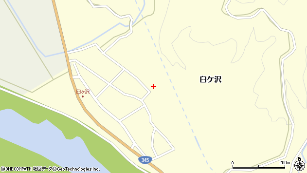 山形県酒田市臼ケ沢池田通48周辺の地図